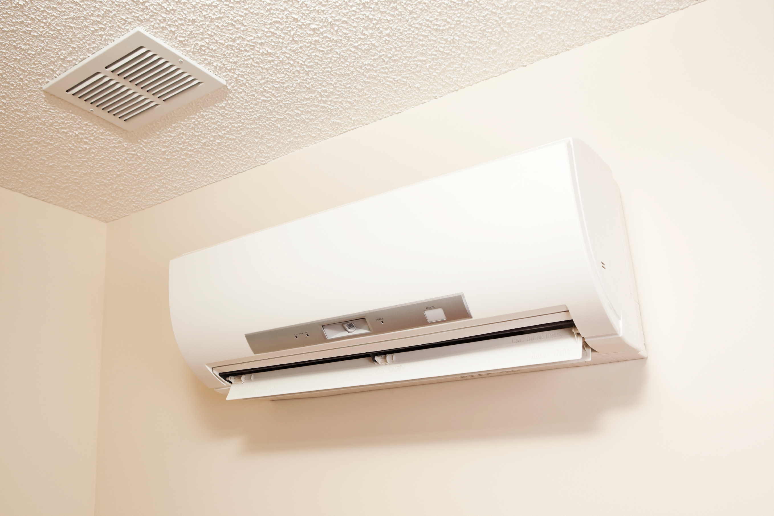ductless-mini-split-on-wall
